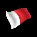 MALTA Cavendish School of English - Giocamondo Study-bandiera-malta