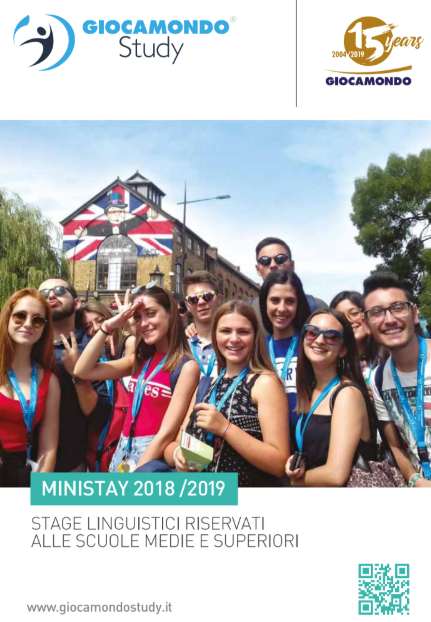 Mini stay all'estero - Giocamondo Study-catalogo-stage-linguistici-mini-stay-estero-2019-giocamondo-study
