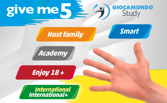 Miglior Agenzia Vacanze Studio all'estero conformi INPSieme | Giocamondo Study-give-me-5-2