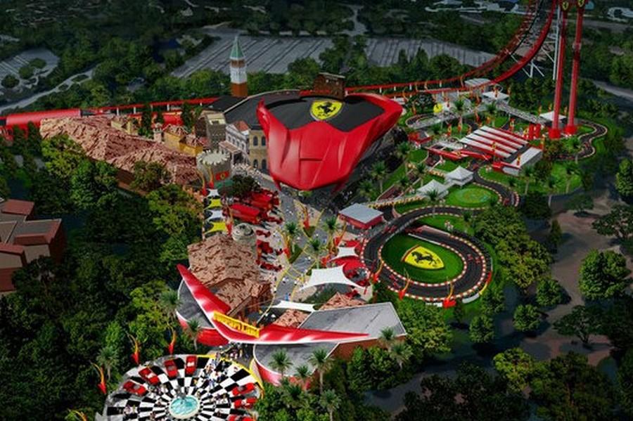 Parco ferrari spagna idea di immagine auto for Barcellona estate 2016