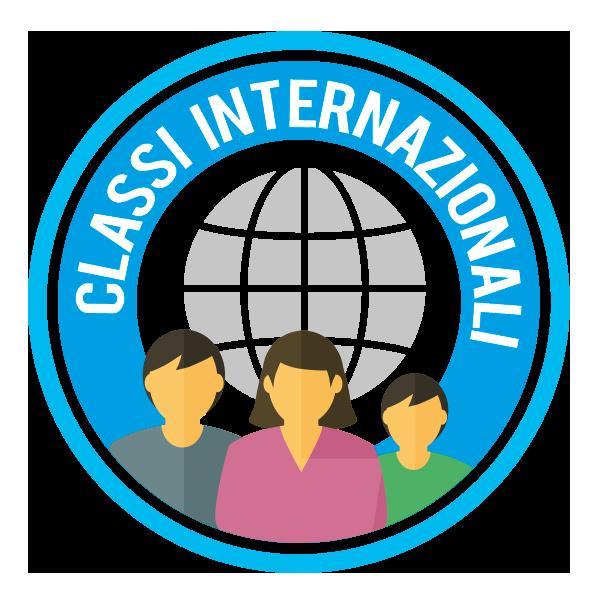 Le classi non saranno divise per nazionalità, ma all'interno della stessa classe condividerai l'apprendimento con coetanei provenienti da ogni parte del mondo.