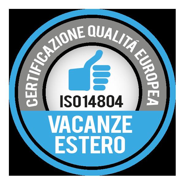 Giocamondo Study è in possesso del certificato UNI EN 14804 relativo all'organizzazione ed erogazione di viaggi studio all'estero