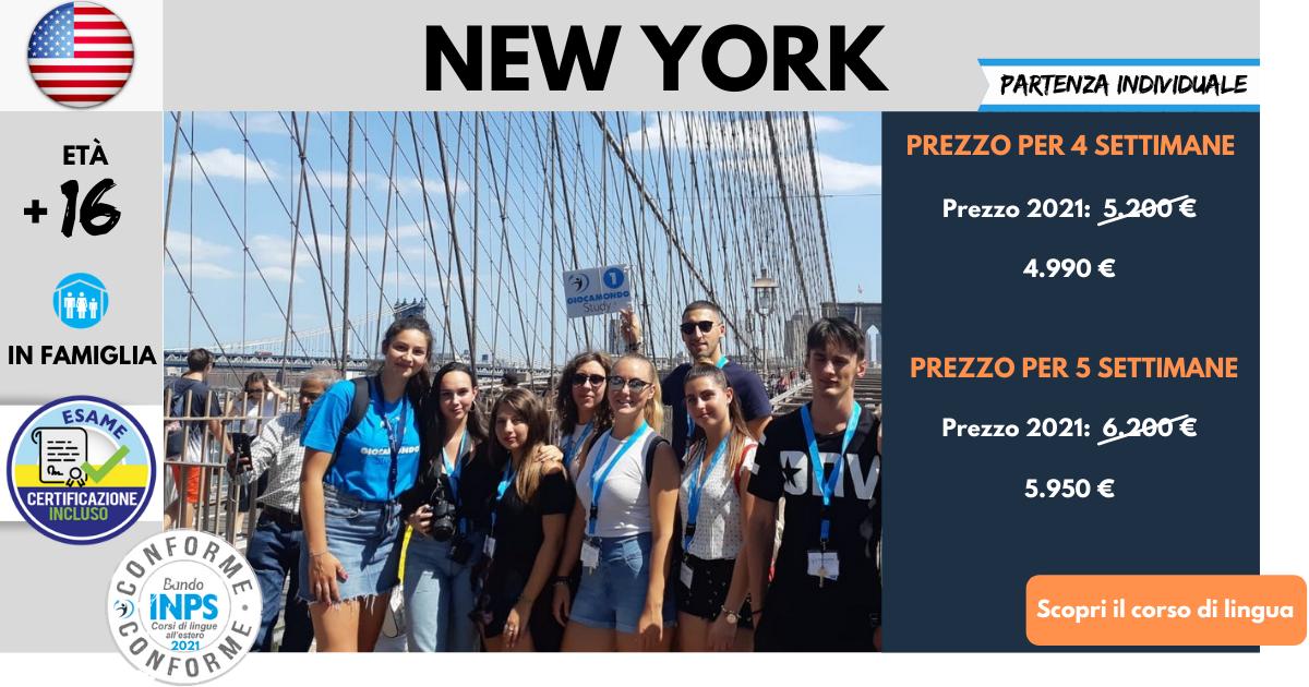 Corsi di lingua all'estero 2021 - Conformi INPS - Giocamondo Study-Corsi-di-lingua-2020-New-York-5