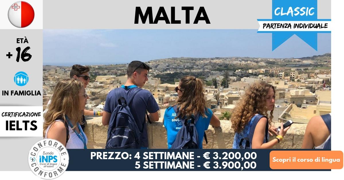Corsi di lingua all'estero - Conformi INPS - Giocamondo Study-Corsi-di-lingua-Malta