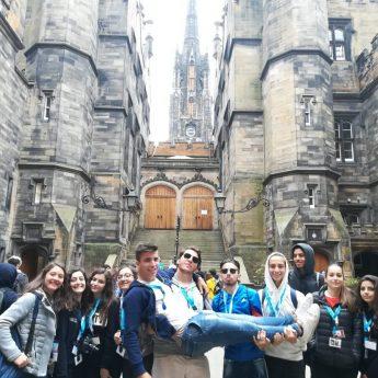 Foto Scozia - Edimburgo - Napier 2018 // Turno 1 Giorno 9 - Giocamondo Study-EDIMBURGO-TURNO-1-GIORNO-9-FOTO1-345x345