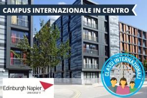SCOZIA – EDIMBURGO NAPIER UNIVERSITY INTERNATIONAL TASTE -