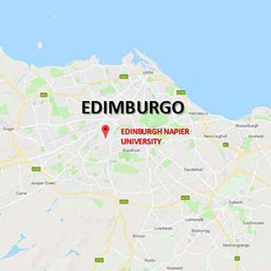 Vacanza Studio Edimburgo Scozia conforme Estate INPSieme | Università Edimburgo 360°-Edimburgo-map-2