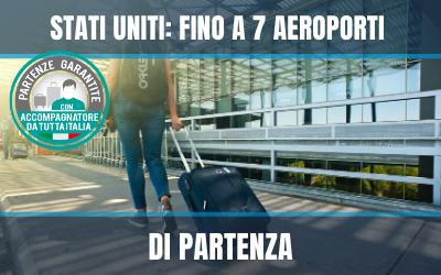 Fino a 7 aeroporti per gli Stati Uniti - Vetrina 2020