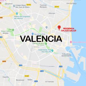 Vacanza Studio a Valencia e Formentera Spagna conforme Estate INPSieme | CAMPUS UNIVERSITARIO INTERNAZIONALE-MAPPA-VALENCIA
