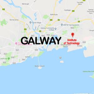 Vacanza Studio a Galway IRLANDA conforme Estate INPSieme | GMIT UNIVERSITY-MAPPE2