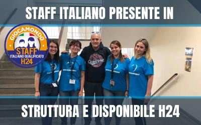 Staff Italiano - Vetrina 2020
