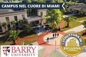 USA – MIAMI BARRY UNIVERSITY: UN PROGRAMMA DA SOGNO -