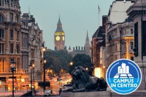 UK – LONDRA CENTRALISSIMA: CAMPUS IN CENTRO -