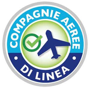 Compagnie aeree di linea utilizzate per le nostre partenze
