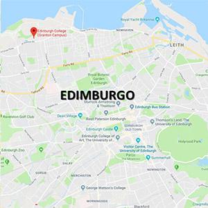 Vacanza Studio Edimburgo Scozia Estate INPSieme | EDINBURGH COLLEGE EROI E FANTASMI-edimburgo-map