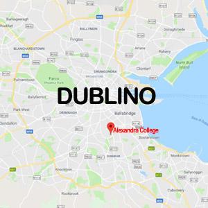 Vacanza Studio a Dublino IRLANDA conforme INPSieme | DUBLINO VACANZA STUDIO IN FAMIGLIA-mappa-3