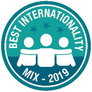 Il mix di internazionalità è stato valutato tra i migliori dell'estate 2019 dai nostri studenti