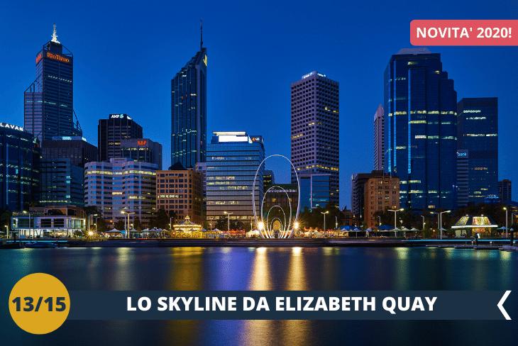 NEW! PERTH BY NIGHT: ELIZABETH QUAY, una passeggiata serale nel quartiere degli affari per viste mozzafiato sullo skyline di Perth