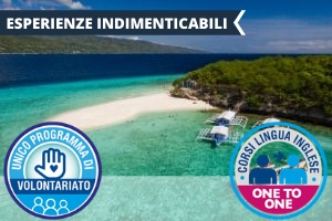 FILIPPINE – CEBU: INGLESE ONE TO ONE IN UN PARADISO TROPICALE -