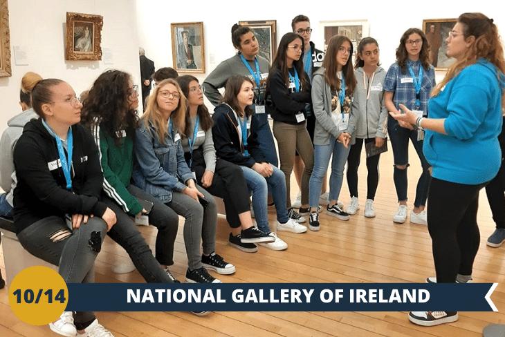 Visiterete la NATIONAL GALLERY OF IRELAND, il museo più importante d'Irlanda la cui collezione annovera veri capolavori d 'arte irlandese ed europea, come ad esempio un preziosissimo quadro del CARAVAGGIO! (escursione di mezza giornata)