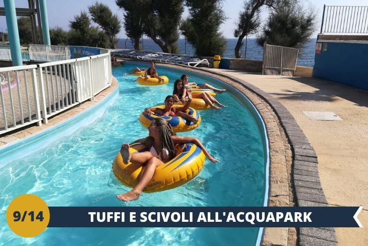 Un fantastico pomeriggio all'Acquapark più esclusivo di Malta (INGRESSO INCLUSO). Sarete i protagonisti tra scivoli, tuffi, e piscine... affacciati sullo splendido mare maltese (Escursioni di mezza giornata)