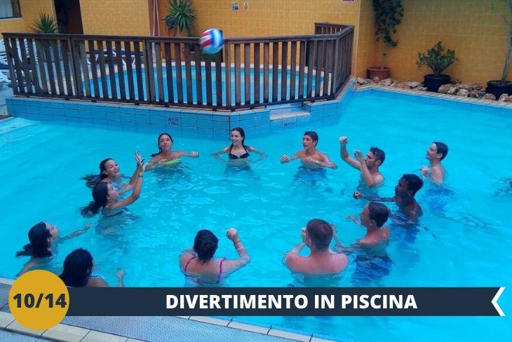 Un fantastico party pomeridiano in piscina allieterà i ragazzi tra luci, musica e tantissimo divertimento (Escursioni di mezza giornata)