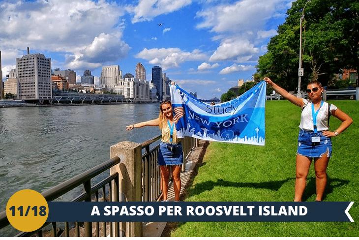 ROOSEVELT ISLAND TRAM, per un giro sospeso sull' East River che permette di apprezzare le bellissime vedute di Manhattan e Roosevelt Island… un tuffo nel primo film di Spiderman, mix tra relax e panorami spettacolari (escursione di mezza giornata)