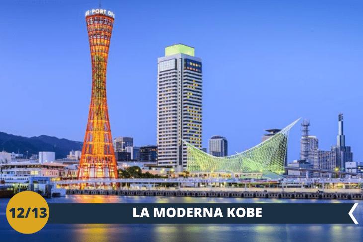 KOBE: escursione alla meravigliosa città di Kobe con il suo inconfondibile skyline e lo spettacolare scenario delle montagne che circondano il porto, una delle realtà urbane più cosmopolite di tutto ilGiappone. Visiteremo il KAWASAKI MUSEUM (INGRESSO INCLUSO), un'esposizione molto interessante e sorprendente dove poter vedere in quanti settori Kawasaki produce ed ha prodotto., troveremo alcuni pezzi visitabili internamente (locomotiva, treno metropolitano, elicottero, ecc.) ed alcune simulazioni di guida. (escursione di mezza giornata)