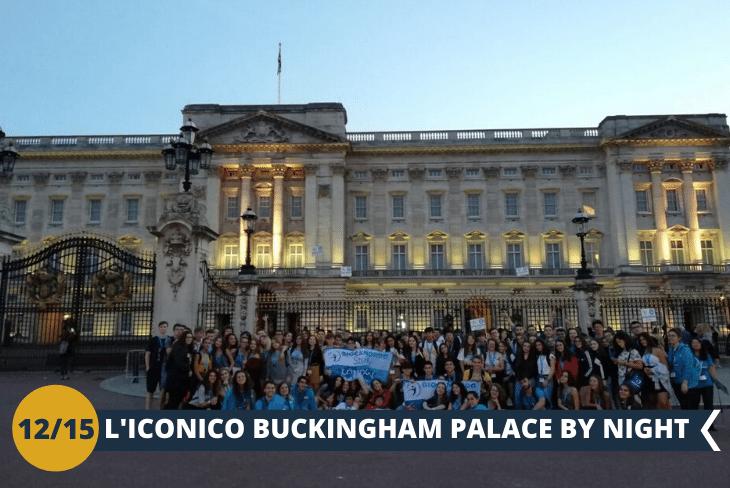 LONDON BY NIGHT, uscita serale per ammirare il palazzo reale di Buckingham Palace, completamente illuminato