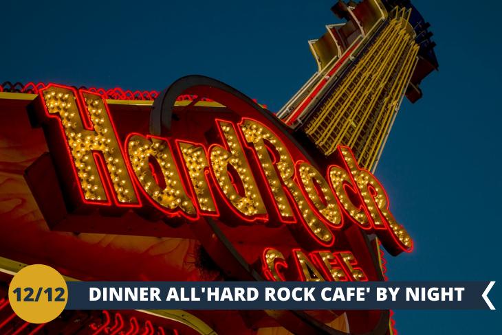 EDINBURGH BY NIGHT, cena all' HARD ROCK CAFE',per trascorrere una serata in compagnia nel ristorante preferito dai ragazzi!