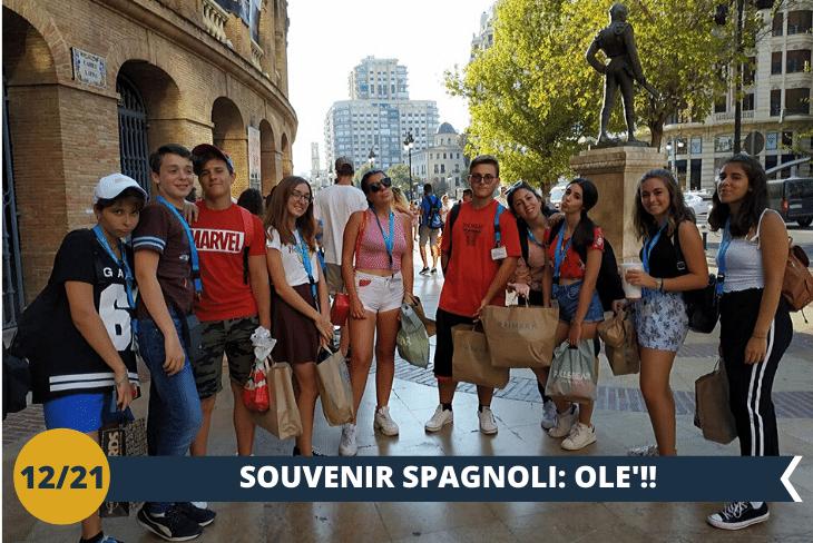 SHOPPING - Un pomeriggio dishopping per poter acquistare un souvenir tipicamente spagnolo(escursione mezza giornata)
