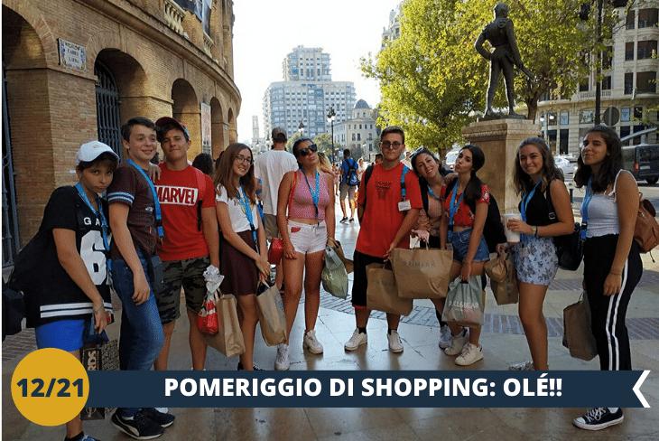 SHOPPING - Un pomeriggio di shopping per poter acquistare un souvenir tipicamente spagnolo (escursione mezza giornata)