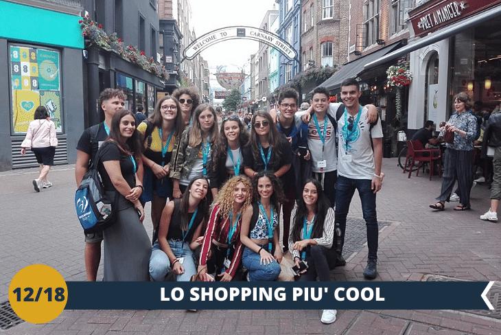 Pomeriggio di shopping a Oxford street e Carnaby Street, le vie più famose dello shopping londinese (escursione di mezza giornata)