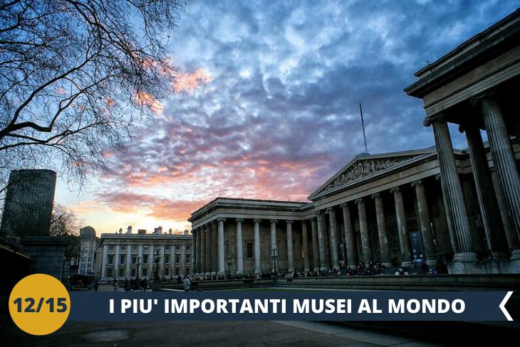 Visita al British Museum, uno dei più grandi ed importanti musei della storia del mondo, che si trova nella bellissima zona centrale di Bloomsbury (escursione mezza giornata)
