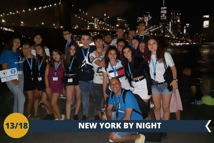 NEW YORK BY NIGHT: Chill Out Night, una serata a spasso per la città alla scoperta dei dintorni della nostra prestigiosa università, sempre accompagnati dal nostro Staff!