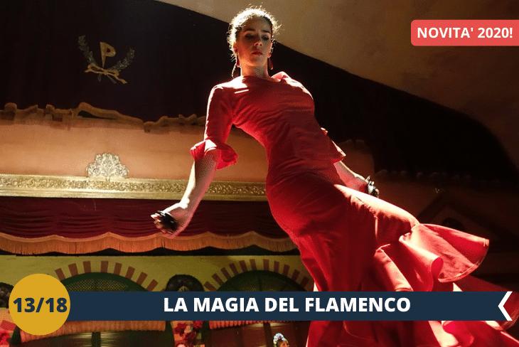 NEW! BARCELLONA BY NIGHT: sarete i protagonisti di uno spettacolo di Flamenco (INGRESSO INCLUSO) in uno dei locali più in ed esclusivI di Barcellona!
