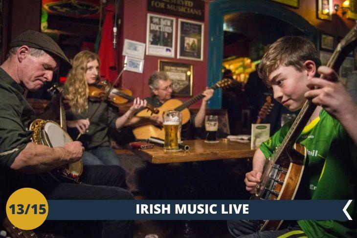 DUBLINO BY NIGHT: una serata a ritmo di musica irlandese!