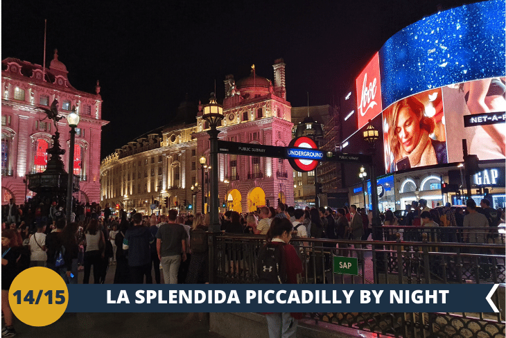 LONDON BY NIGHT, Piccadilly Circus e Leicester Square
