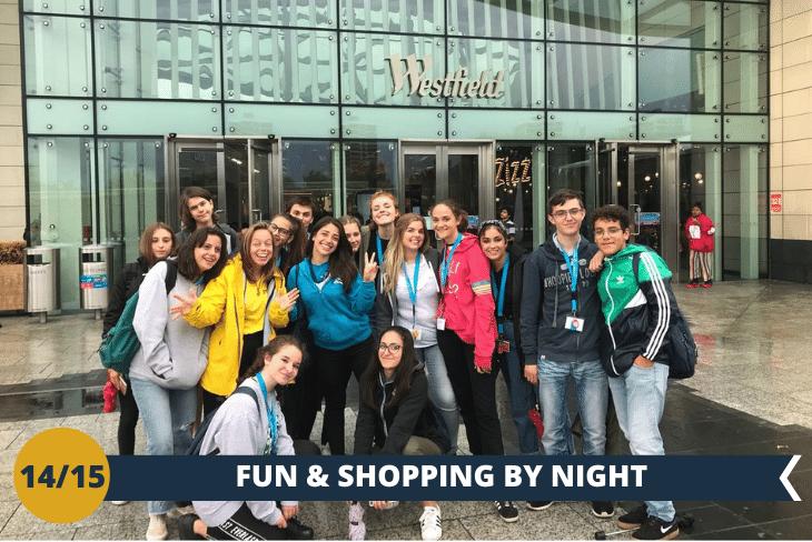 LONDON BY NIGHT: una serata di shopping nella mall più esclusiva della Capitale inglese