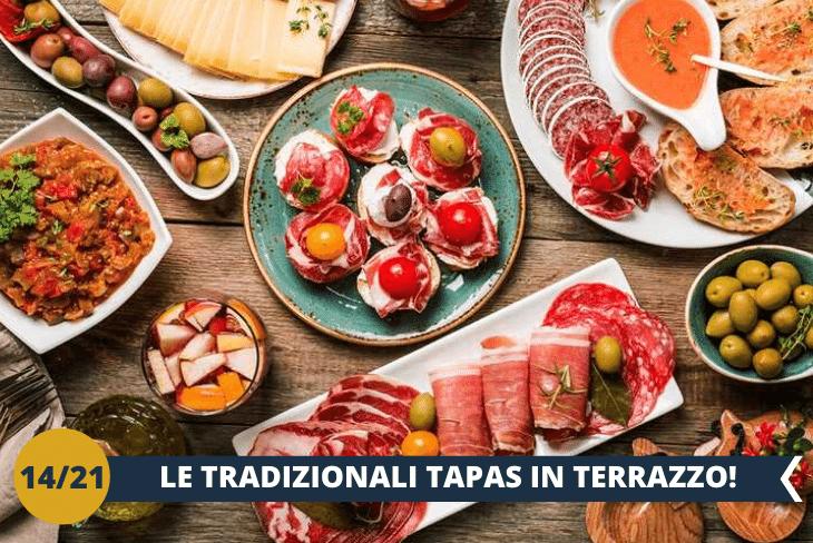 DINNER BY NIGHT: Al rientro in struttura ci aspetta un GUSTOSISSIMO BARBECUE + TAPAS IN TERRAZZA, per vivere un momento tipicamente spagnolo!