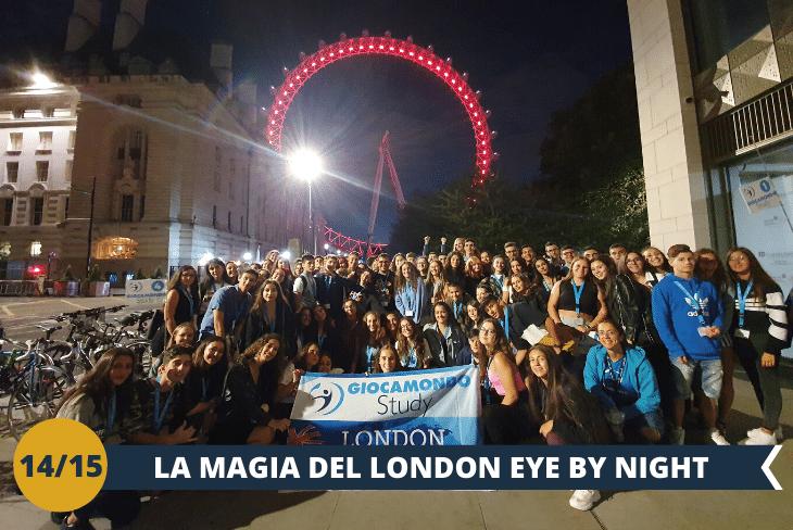 London by night: London Eye, una serata a passeggiare per la South Bank al tramonto!