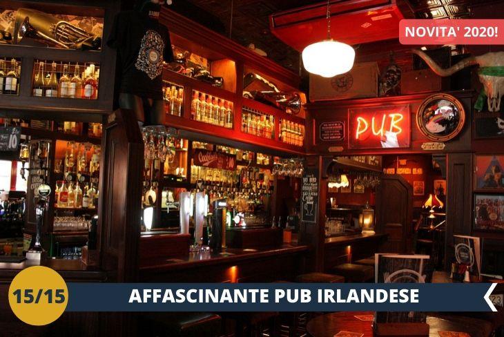 NEW! DUBLINO BY NIGHT: una serata divertente presso un tradizionale pub irlandese! Scoprirete un'area popolata dai veri Dubliners per godervi un'autentica atmosfera irlandese.