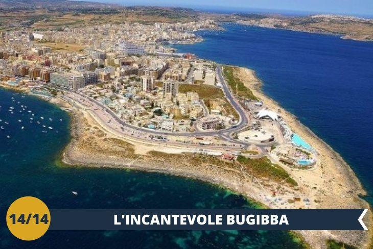 Bugibba un tempo era un piccolo villaggio di pescatori, oggi invece forma il secondo polo turistico di Malta (Escursione di mezza giornata)