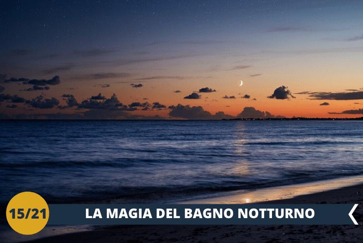 VALENCIA BY NIGHT:Stupenda serata in spiaggia con immancabile bagno notturno!