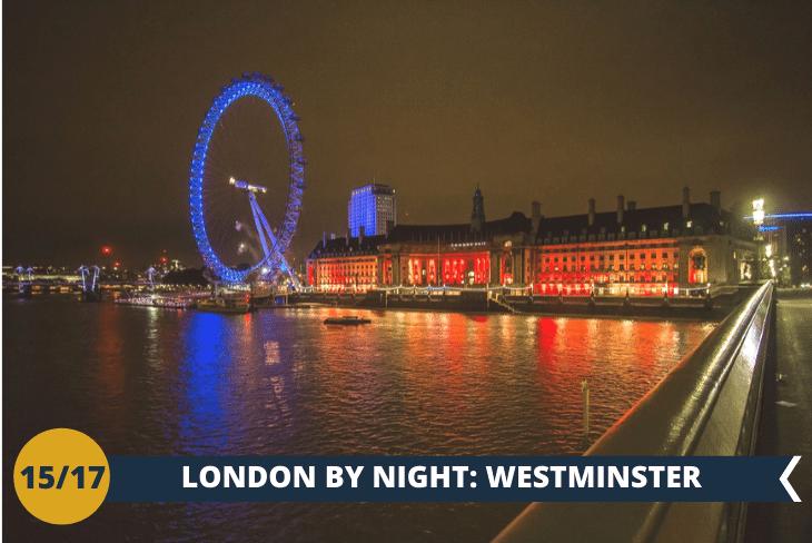 LONDON BY NIGHT: per ammirare il Big Ben e Westminster dal misterioso stile gotico!