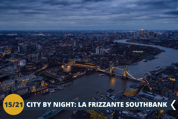 LONDON BY NIGHT: walking tour alla scoperta della frizzante zona di SOUTHBANK