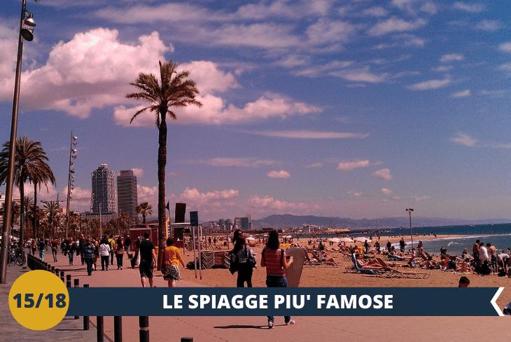I ragazzi potranno trascorrere il loro pomeriggio in una delle più spettacolari spiagge di Barcellona: due chilometri di sabbia e tre spiagge, con un gradevole lungomare che attraversa splendide zone verdi con giardini (escursione mezza giornata)
