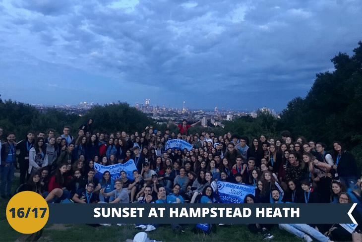 LONDON BY NIGHT: una cena al sacco nel parco di Hampstead Heat per ammirare lo skyline di Londra