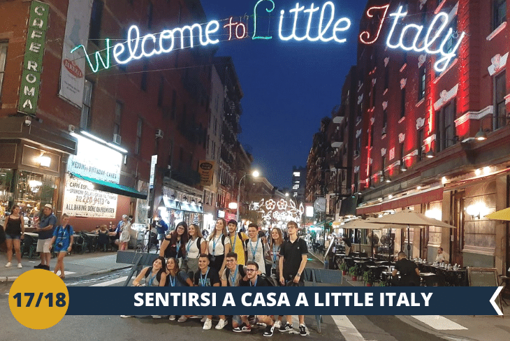 NEW YORK BY NIGHT: passeggiata lungo i quartieri di CHINA TOWN e LITTLE ITALY