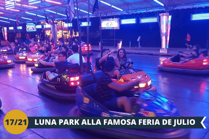 VALENCIA BY NIGHT: una notte di movida alla Feria de Julio, tradizionale evento festivo annuale del mese di luglio con luna park, concerti, spettacoli pirotecnici e tanto altro!